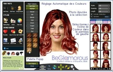 Coiffures virtuelles en ligne changer de coupe de for Comment bien choisir sa coupe et couleur de cheveux